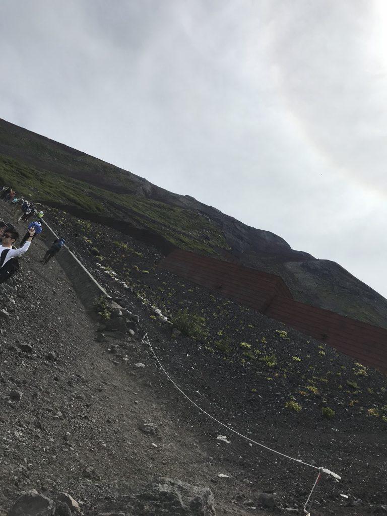 富士山に登ってきました ②