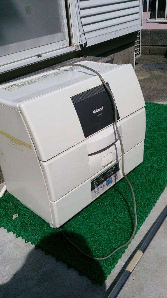 うちで使ってた食洗機が壊れました。